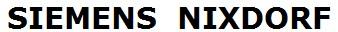 rubans encreurs  pour Siemens Nixdorf