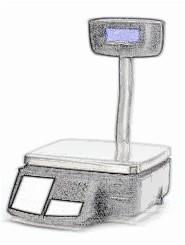 bobines rouleaux thermiques etiquettes pour balance Avery Berkel IM202