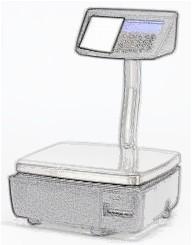 bobines rouleaux thermiques etiquettes pour balance Avery Berkel IM400