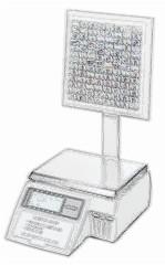 bobines rouleaux thermiques etiquettes pour balance Avery Berkel M300