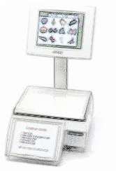 bobines rouleaux thermiques etiquettes pour balance Avery Berkel MP300