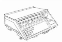 bobines rouleaux thermiques etiquettes pour balance Avery Berkel C17