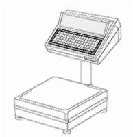 bobines rouleaux thermiques etiquettes pour balance Avery Berkel CX 18