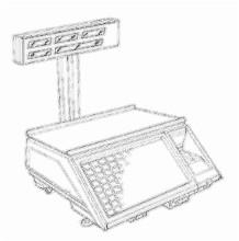 bobines rouleaux thermiques etiquettes pour balance Avery Berkel C30