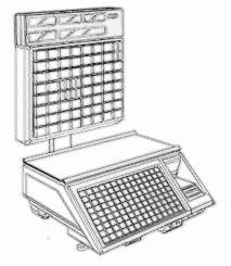bobines rouleaux thermiques etiquettes pour balance Avery Berkel CX30 TK