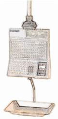 bobines rouleaux thermiques etiquettes pour balance Bizerba BS 400