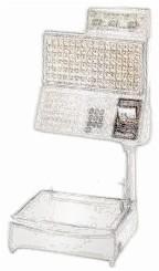 bobines rouleaux thermiques etiquettes pour balance Bizerba BS 500