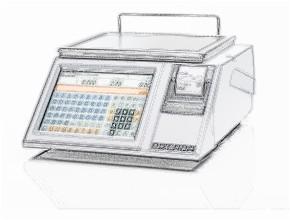 bobines rouleaux thermiques etiquettes pour balance Bizerba CE II 100 S