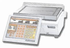 bobines rouleaux thermiques etiquettes pour balance Bizerba KH 100