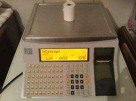 bobines rouleaux thermiques etiquettes pour balance Bizerba SC 100