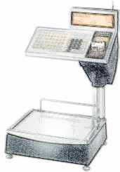 bobines rouleaux thermiques etiquettes pour balance Bizerba SC 800