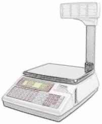 bobines rouleaux thermiques et étiquettes pour balance Dibal K-355 T