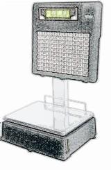 bobines rouleaux thermiques et étiquettes pour balance Dibal L-580