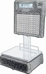 bobines rouleaux thermiques et étiquettes pour balance Dibal L-880