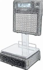 bobines rouleaux thermiques et étiquettes pour balance Dibal L-882
