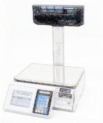 bobines rouleaux thermiques etiquettes pour balance Digi SM 90