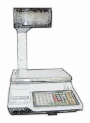 bobines rouleaux thermiques etiquettes pour balance Exa Mercure 11 V12