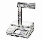 bobines rouleaux thermiques etiquettes pour balance Exa X11 V8