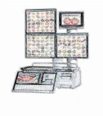 bobines rouleaux thermiques etiquettes pour balance Ishida Uni-7 Self Service