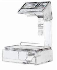 bobines rouleaux thermiques etiquettes pour balance Ishida Uni-7 Twin