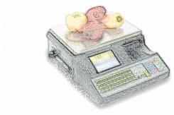 bobines rouleaux thermiques etiquettes pour balance Master CE 9100