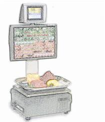 bobines rouleaux thermiques etiquettes pour balance Master CE 9700