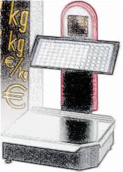 bobines rouleaux thermiques pour balance Metler Toledo LP 15D