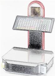 bobines rouleaux thermiques etiquettes pour balance Mettler Toledo MIRAe