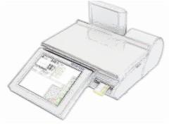 bobines rouleaux thermiques etiquettes pour balance Mettler Toledo UC3 CT