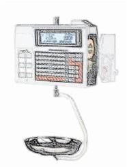 bobines rouleaux thermiques etiquettes pour balance Precia Molen L860 S