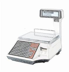 bobines rouleaux thermiques etiquettes pour balance Precia Molen L860