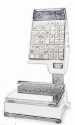 bobines rouleaux thermiques pour balance Tec SL 9000 FFS